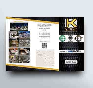 Koch Metal Works brochure